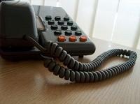 仕事場の電話