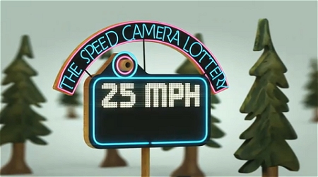 ↑ The Speed Camera Lottery - The Fun Theory。