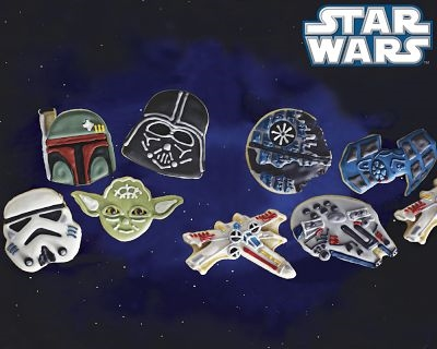 ↑ Star Wars(TM) Heroes & Villains Cookie Cutters