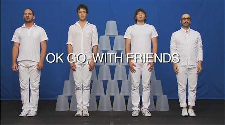↑ 「OK Go」の公式動画の一つ。