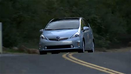 ↑ Toyota Prius V 2012 Footage。
