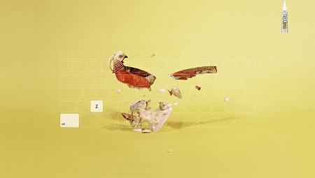 ↑ 鳥の置物
