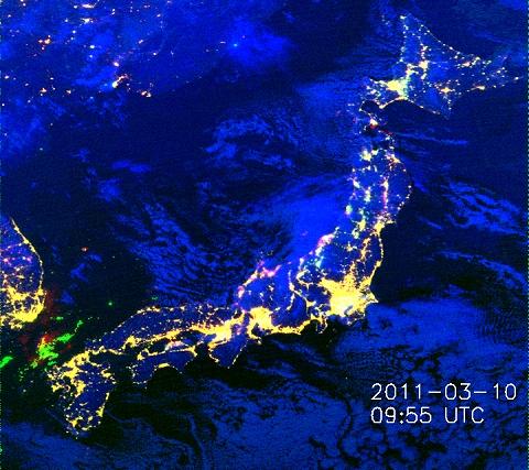 ↑ 2011年3月10日18時55分(日本時間)