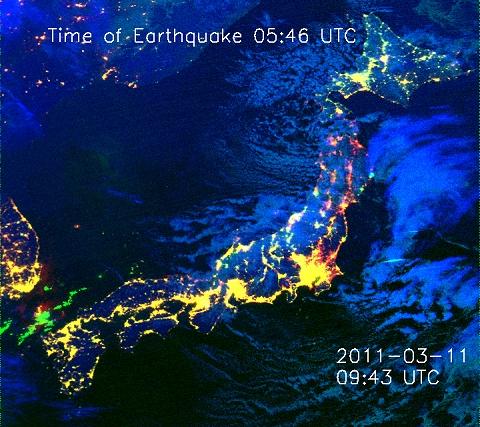 ↑ 2011年3月11日18時43分(日本時間)