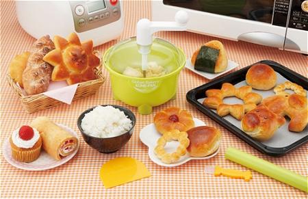 ↑ ごはんでおいしいパンづくり 米パン(こめぱん)