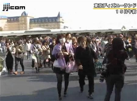 ↑ 4月15日に運営が再開された東京ディズニーランド。