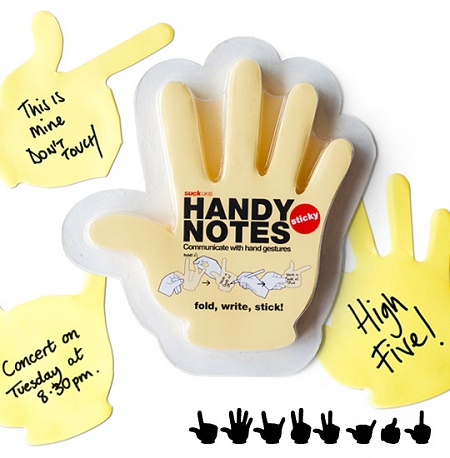↑ HANDY NOTES