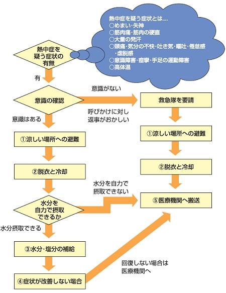 ↑ 処置チャート