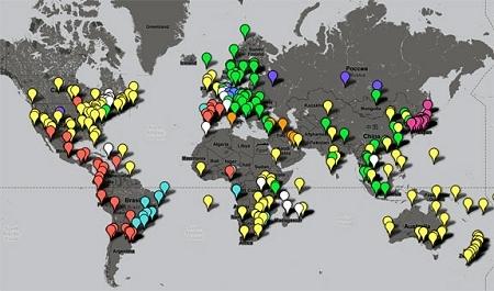 ↑ Newspaper Map