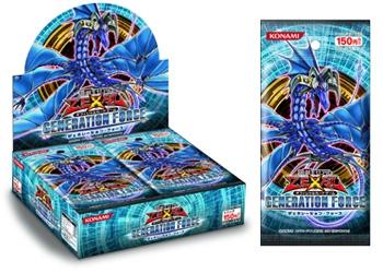 ↑ 遊戯王ゼアルOCG GENERATION FORCE (4月16日発売)