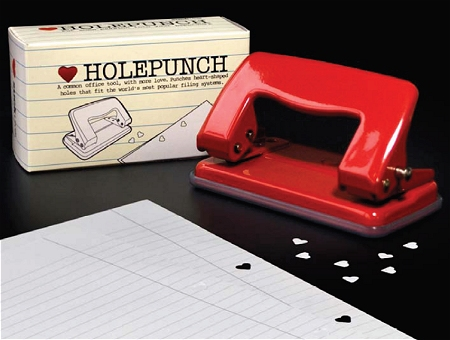 ↑ Heart Hole punch