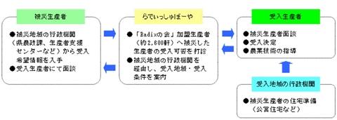 ↑ プロジェクトの流れ