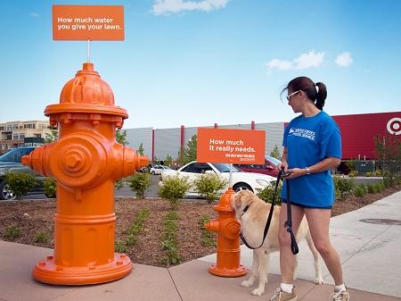 ↑ 大きな消火栓と小さな、普通サイズの消火栓。その意味とは……