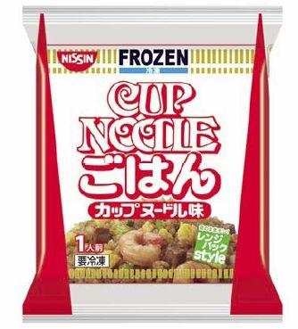 ↑ 冷凍 日清レンジパックスタイル カップヌードルごはん