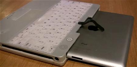 ↑ ノートパソコンなiPad。
