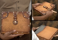 Steampunk iPad Case