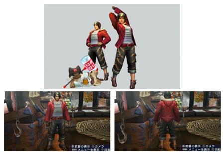 ↑ ゲーム内のユニクロアイテム