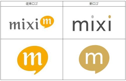 ↑ 今回発表された新ロゴと従来ロゴ