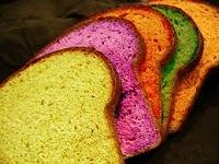 カラフルなパン
