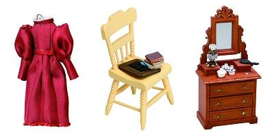 ↑ 家具や小物