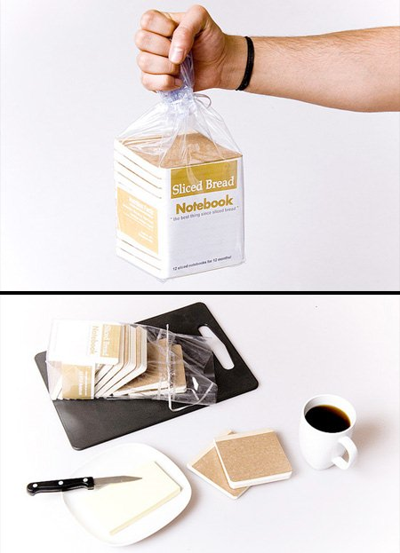 ↑ Sliced Bread Notebook