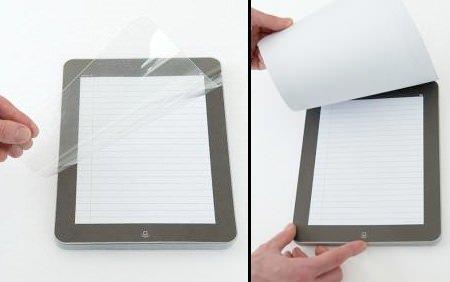 ↑ iNotePad。