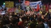 イスラエルでのデモの様子
