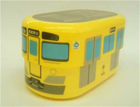 ↑ 新2000系黄色い電車ランチボックス