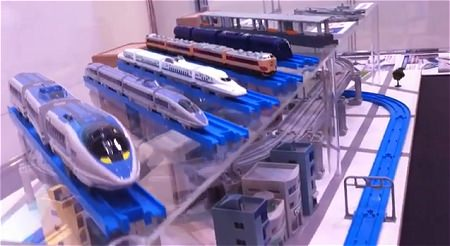 ↑ 国際鉄道模型コンベンションにて。
