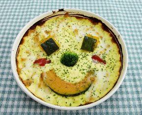 ↑ 十勝チーズのパンプキンドリア