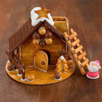 ↑ 自分でつくるクリスマス ヘクセンハウス。