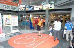 ↑ 松山空港でのイベントのようす
