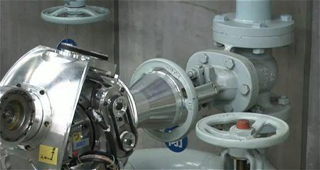 ↑ 作業アームロボットの稼働のようすを映した公式動画。