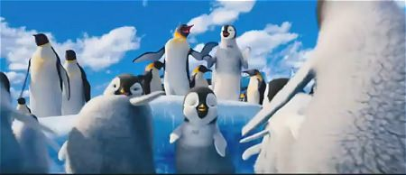 ↑ 「ハッピー フィート2 踊るペンギン レスキュー隊」公式のプロモーション映像。