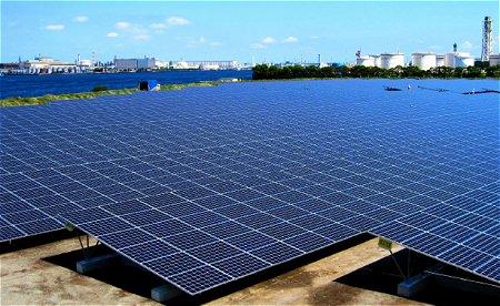 ↑ 「扇島太陽光発電所」