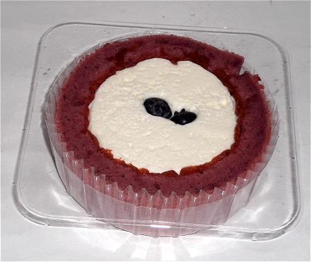 プレミアム ブルーベリーとチーズのロールケーキ