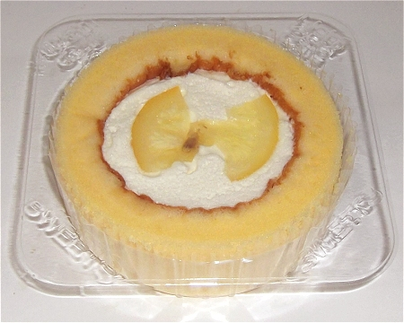プレミアムレモンとレアチーズのロールケーキ