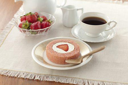 ↑ プレミアムあまおうのロールケーキ