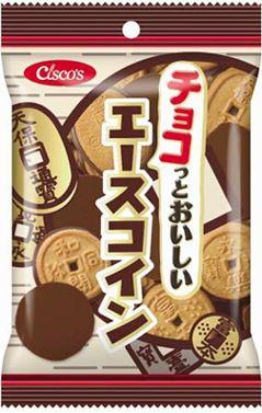 ↑ エースコイン チョコレート