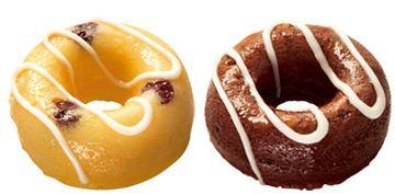 ↑ ひんやり焼きド。左からデザートチーズ、デザートチョコ