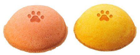 ↑ 「小犬のふわふわクリームケーキ」(左)と「小ねこのふわふわクリームケーキ」(右)
