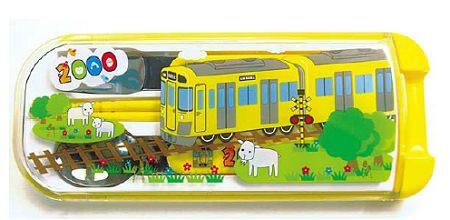 ↑ 新2000系黄色い電車ランチトリオ