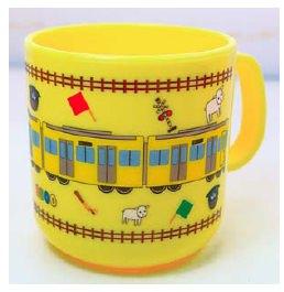 ↑ 新2000系黄色い電車プラカップ