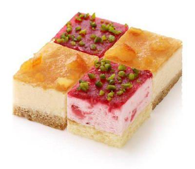 ↑ フローズンキューブケーキ「イチゴ&ベイクドチーズ」