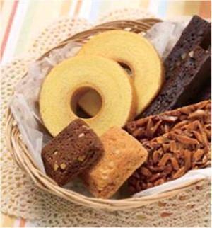 ↑ MACHI cafe 焼菓子