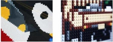 ↑ 各パーツはレゴの組合せで創られている