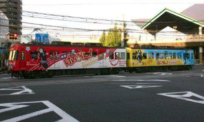 ↑ 1/150 京阪600形 「けいおん!」ラッピング電車(放課後ティータイムトレイン)