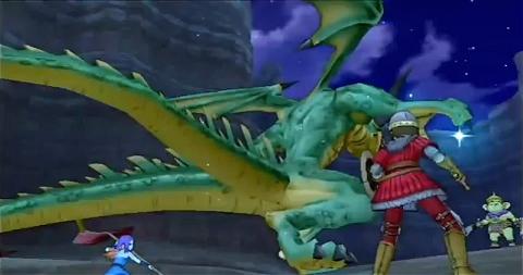 ↑ 『ドラゴンクエストX 目覚めし五つの種族 オンライン』の公式イメージ映像。