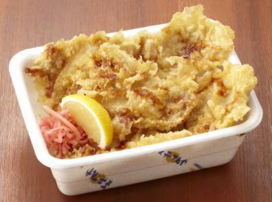 ↑ ロース豚天丼弁当