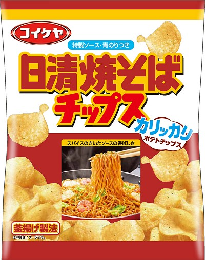 ↑ 日清焼そばチップス